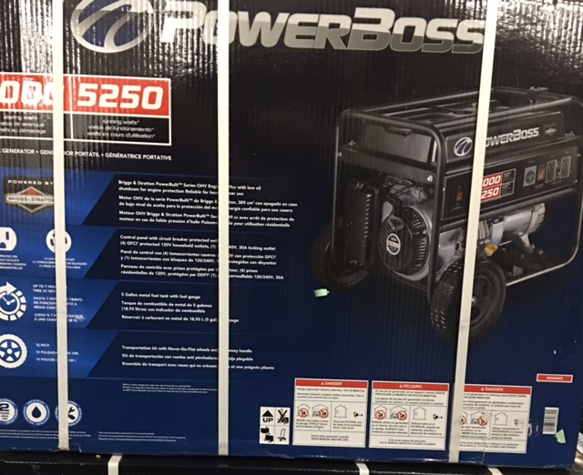Briggs & Stratton #30660 PowerBoss 7000/5250 $648.04 + tax
